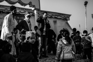 party for Syrian children organised by El Attar